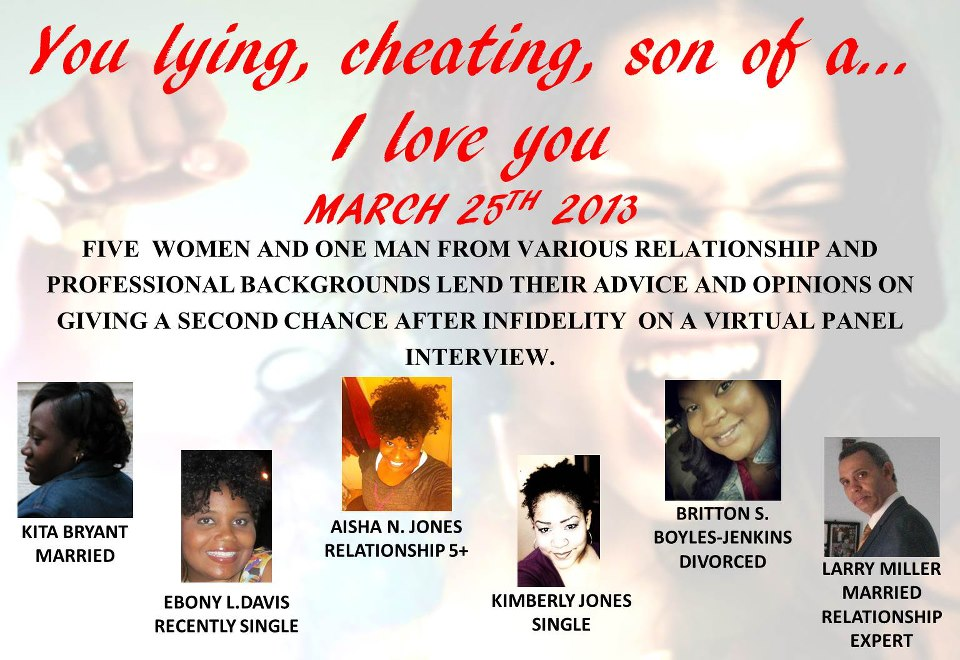 You lying, cheating, son of a...I love you due 032513