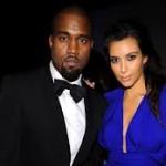 Kim and Kanye West image 1