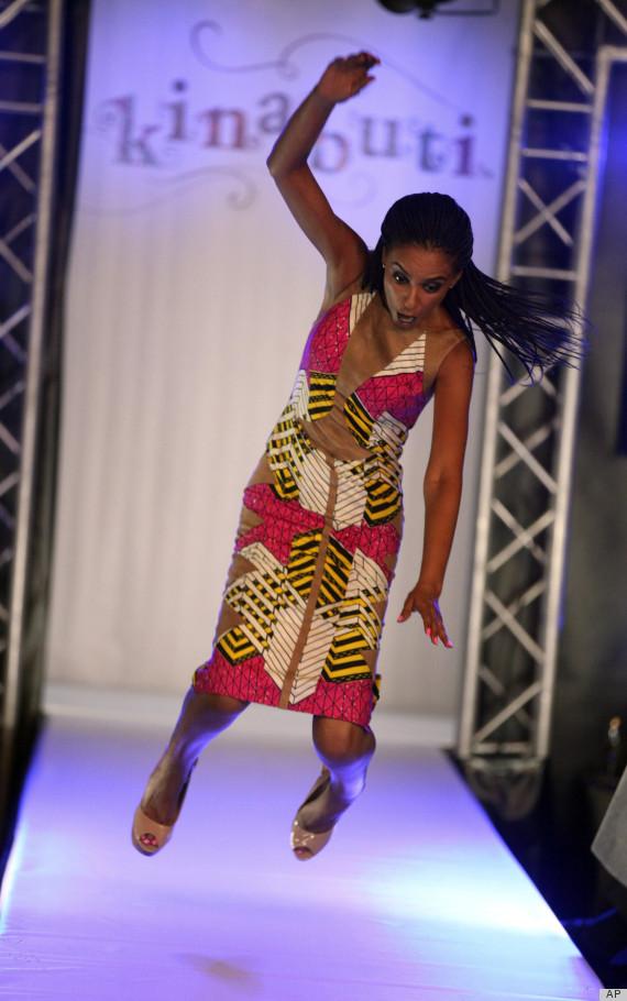APTOPIX Nigeria Fashion