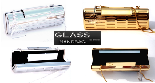 glass handbag