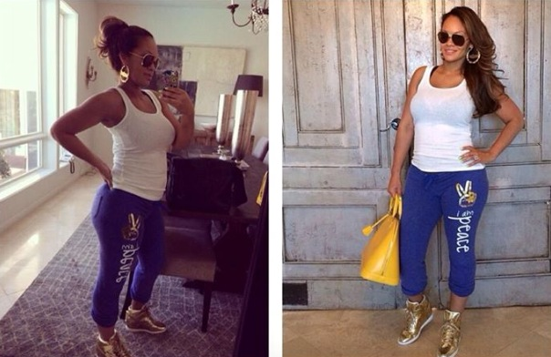 Evelyn Lozada Shows Off Her Post Baby Body - Ms Nix in the Mix