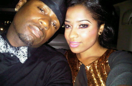 toya wright and her husband